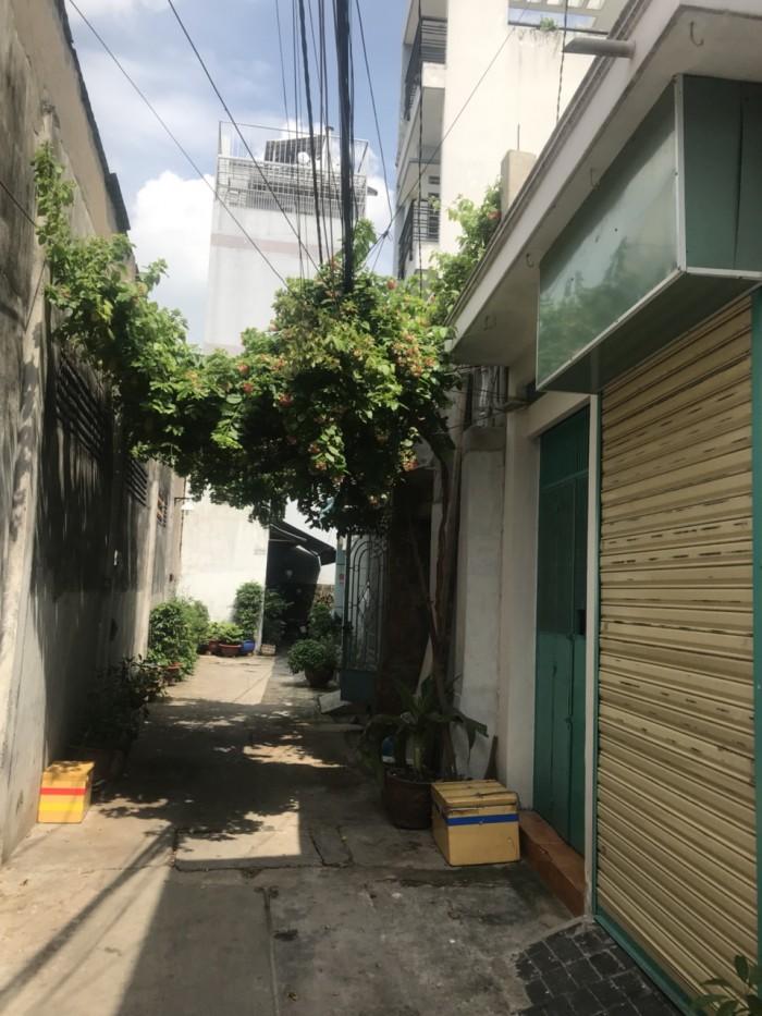 Nhà hẻm giá rẻ đường Dương Văn Dương DT 3,9m x 15m