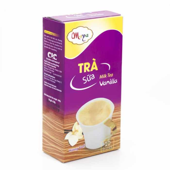 Bột trà Sữa Maya  Vanilla  (10 Gói)2