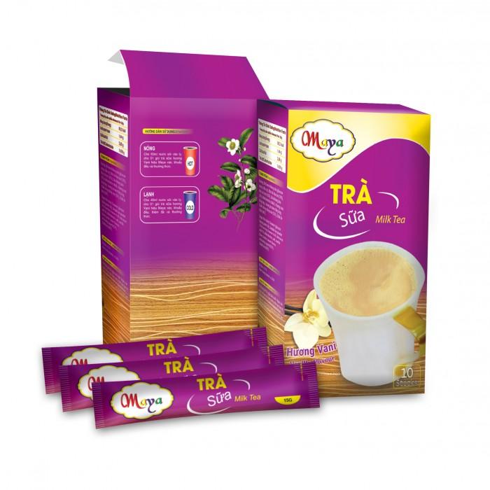 Bột trà Sữa Maya  Vanilla  (10 Gói)0