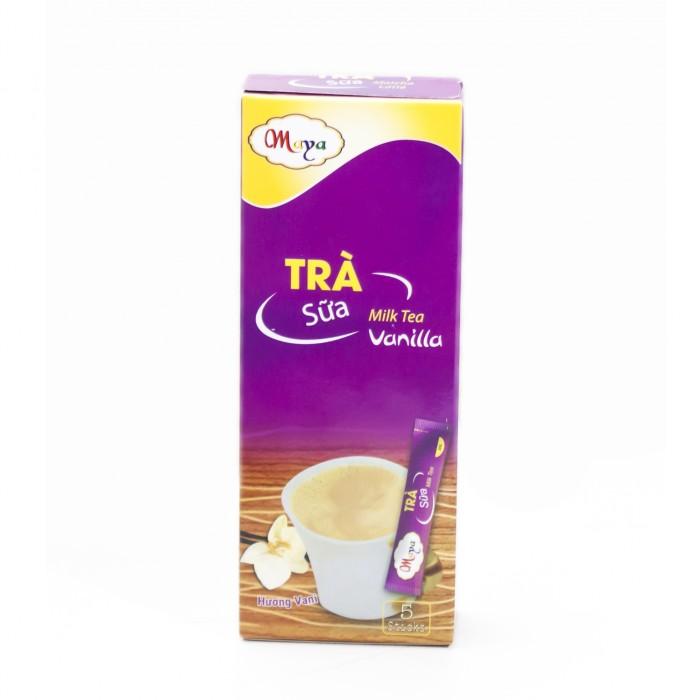 Bột trà Sữa Maya  Vanilla  (5 Gói)0
