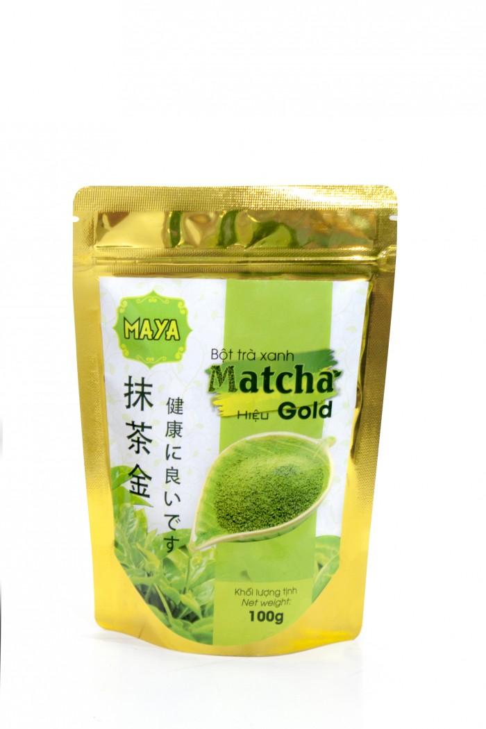 Bột trà xanh matcha hiệu Gold (100g/Túi)3