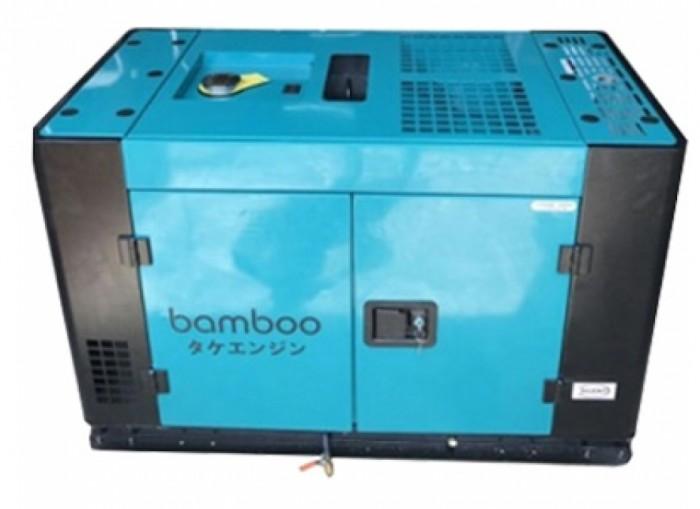Máy phát điện Bamboo 12000A động cơ 4 thì chạy dầu diesel ,công suất 10kW ,