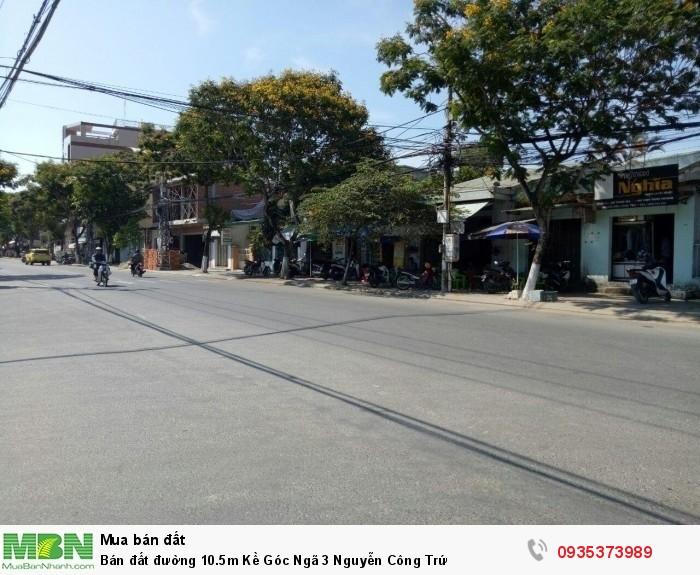 Bán đất đường 10.5m Kề Góc Ngã 3 Nguyễn Công Trứ