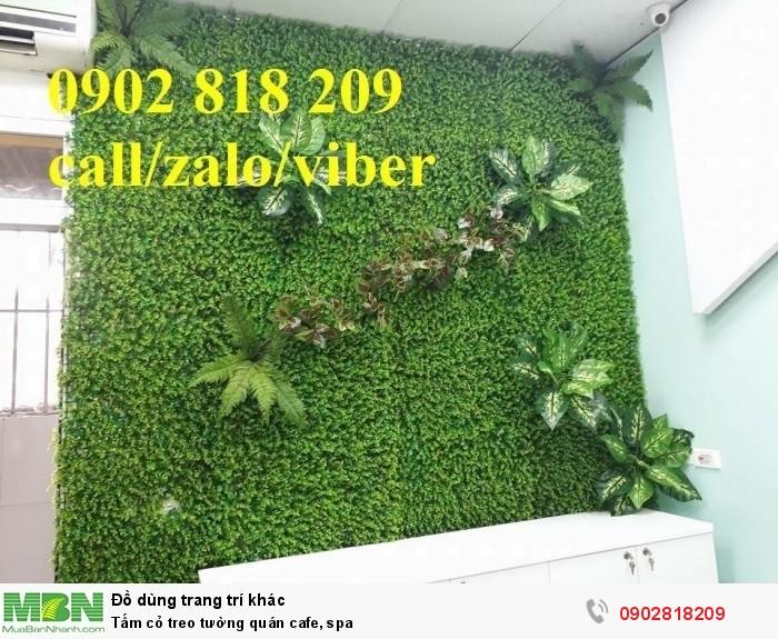 Tấm cỏ treo tường quán cafe, spa4