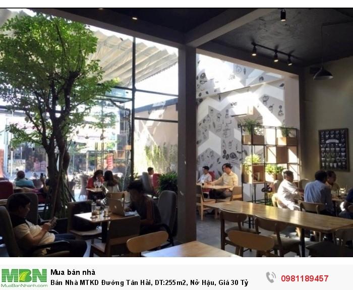 Bán Nhà MTKD Đường Tân Hải, DT:255m2, Nở Hậu, Giá 30 Tỷ