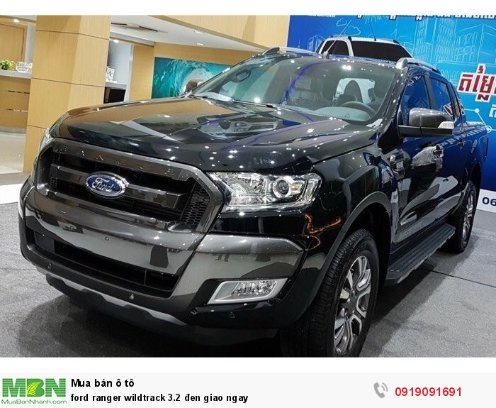 Ford Ranger wildtrack 3.2 đen sản xuất 2018 giao ngay