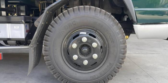 Giá xe ben Trường Hải 5 tấn, thông số kỹ thuật xe ben 5 tấn 8