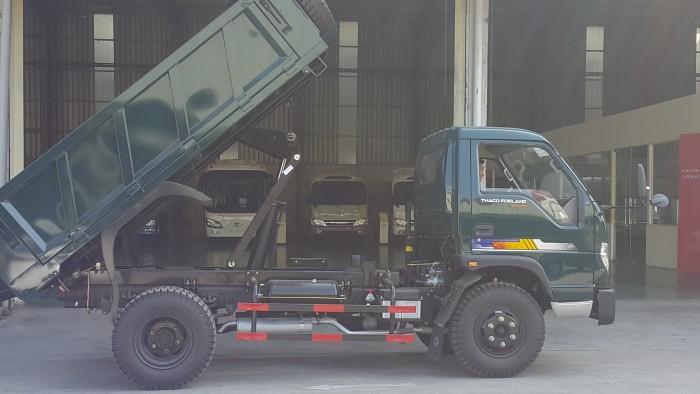 Giá xe ben Trường Hải 5 tấn, thông số kỹ thuật xe ben 5 tấn 2