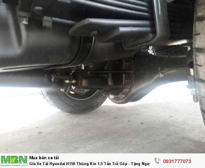 Giá Xe Tải Hyundai H150 Thùng Kín 1.5 Tấn  Trả Góp - Tặng Ngay Định Vị GPS 3