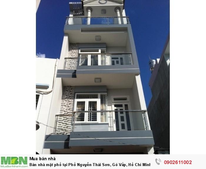 Bán nhà mặt phố tại Phố Nguyễn Thái Sơn, Gò Vấp, Hồ Chí Minh giá 11 tỷ
