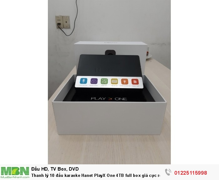 Đầu karaoke Hanet PlayX One 4TB0