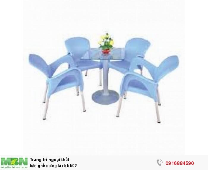 Bàn ghế cafe giá rẻ NN023
