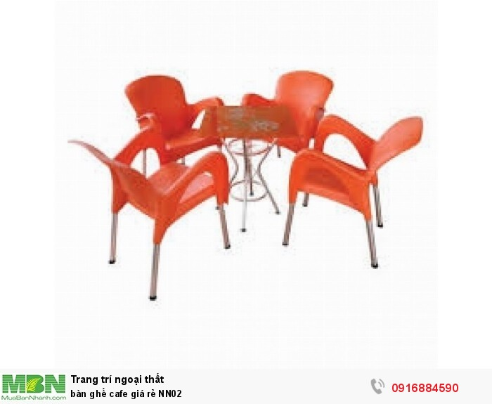 Bàn ghế cafe giá rẻ NN024