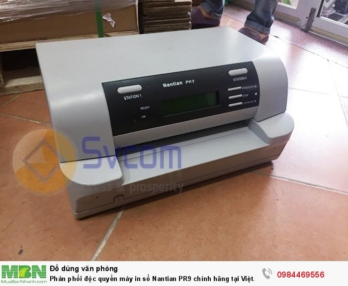 Phân phối độc quyền máy in sổ Nantian PR9 chính hãng tại Việt Nam.