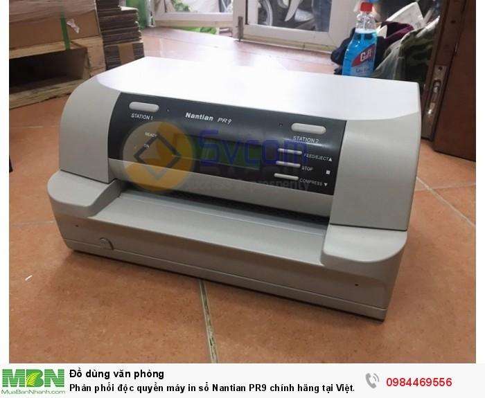 Siêu Việt cung cấp máy in sổ Nantian PR9 chính hãng tại Việt Nam.1