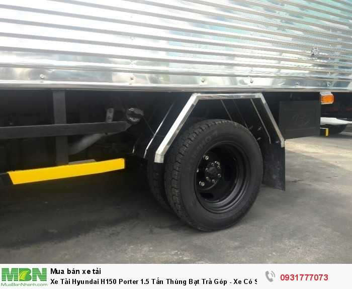 Xe Tải Hyundai H150 Porter 1.5 Tấn Thùng Bạt Trả Góp - Xe Có Sẵn Giao Ngay 3