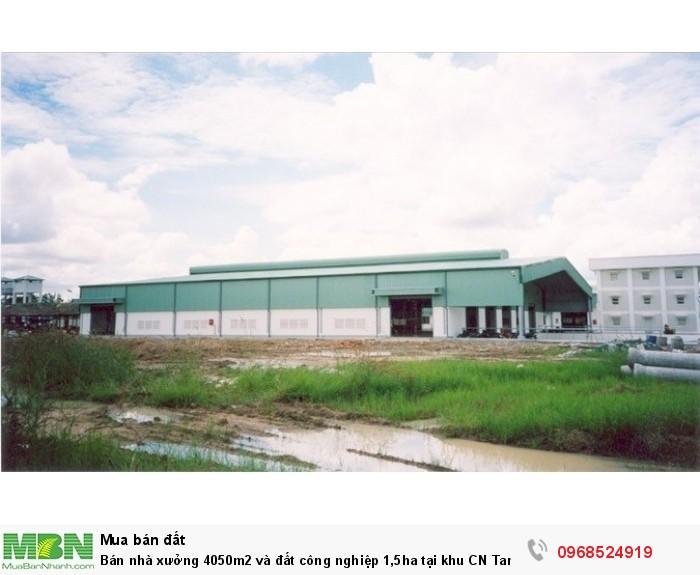 Bán nhà xưởng 4050m2 và đất công nghiệp 1,5ha tại khu CN Tam Điệp Ninh Bình