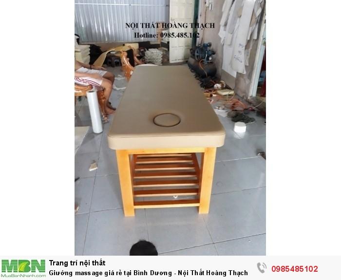 Giường massage giá rẻ tại Bình Dương - Nội Thất Hoàng Thạch