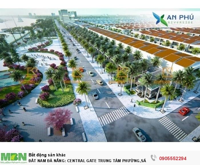 Đất Nam Đà Nẵng: Central Gate Trung Tâm Phường,Sát Chợ,Mặt Tiền Ql1a