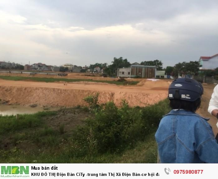 KHU ĐÔ THỊ Điện Bàn CiTy -trung tâm Thị Xã Điện Bàn-cơ hội đầu tư sinh lời-Nam Đà Nẵng