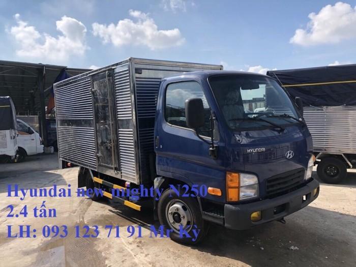 Hyundai mighty N250 mới 100%  2,5 tấn. Hỗ trợ 80%