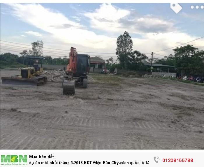 Dự án mới nhất tháng 5-2018 KDT Điện Bàn City-cách quốc lô 1A 30m