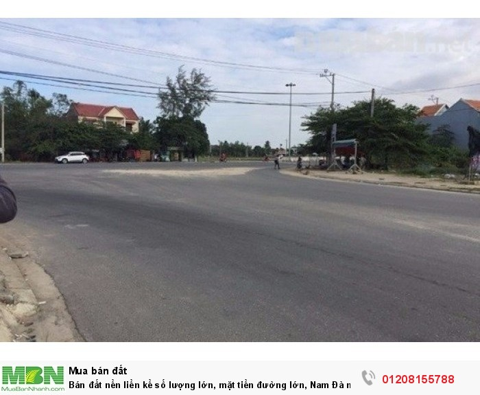 Bán đất nền liền kề số lượng lớn, mặt tiền đường lớn, Nam Đà nẵng