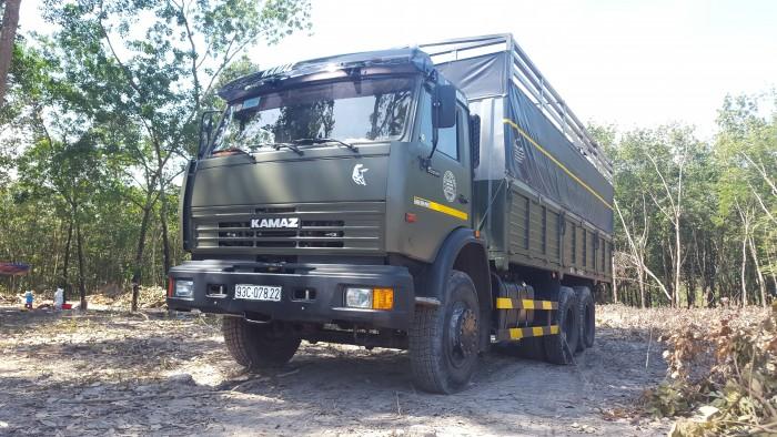 Bán xe tải Kamaz 14 tấn  tại Bình Dương | Kamaz 65117 (6x4) 24 tấn