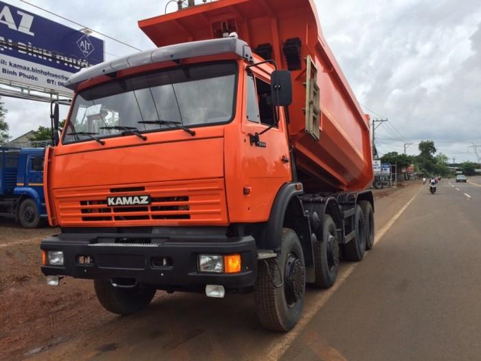 Bán xe ben Kamaz 6540 thùng ben 15m3 mới tại Đắk Nông