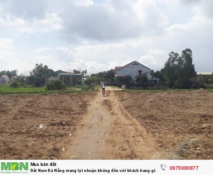 Đất Nam Đà Nẵng mang lợi nhuận khủng đến với khách hang