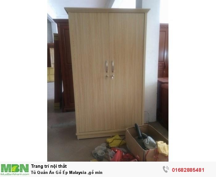 Tủ Quần Áo Gỗ Ép Malaysia - Gỗ min5