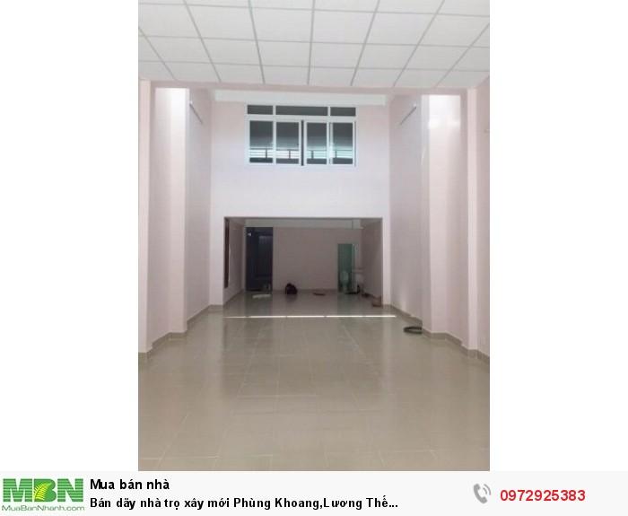 Bán dãy nhà trọ xây mới Phùng Khoang,Lương Thế Vinh,T.Xuân(6Tx9PKK).Giá 3.96 tỷ,