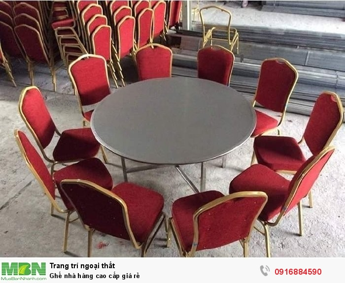 Ghế nhà hàng cao cấp giá rẻ