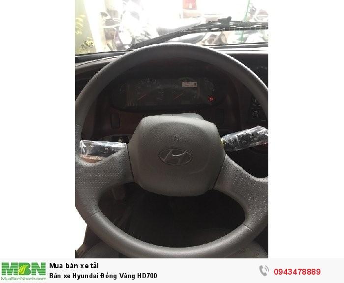Bán xe Hyundai Đồng Vàng HD700 3