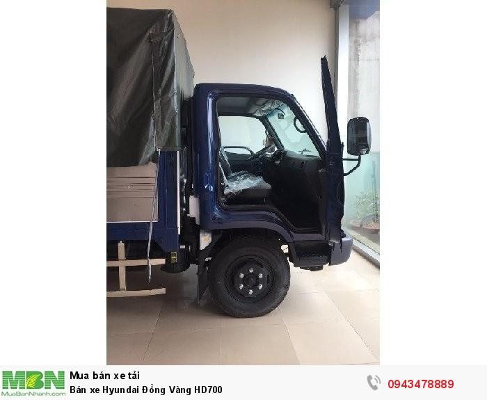 Bán xe Hyundai Đồng Vàng HD700 4