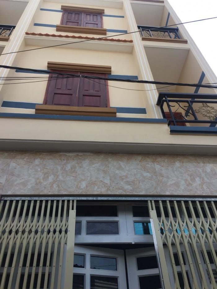 Bán nhà 1 trệt 2 lầu Chợ BÌnh Thành Bình Hưng Hòa B Bình Tân