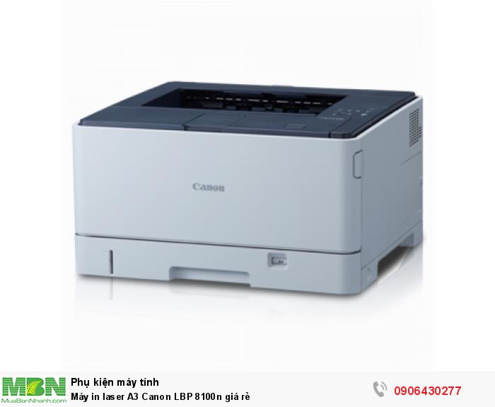 Máy in laser A3 Canon LBP 8100n giá rẻ0