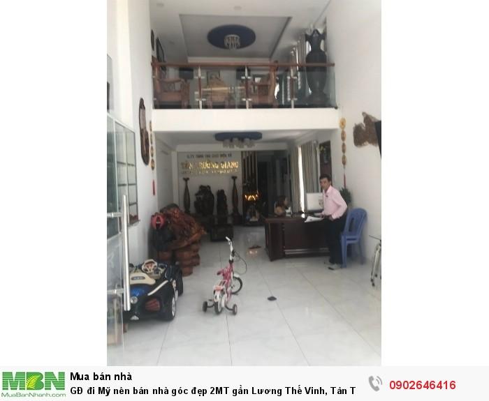 GĐ đi Mỹ nên bán nhà góc đẹp 2MT gần Lương Thế Vinh, Tân Thới Hòa, Tân Phú, DT: 4x19m, trệt+lửng+2lầu, 2PK, 5PN, 11.2 tỷ