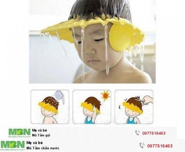 Mũ Tắm chắn nước1
