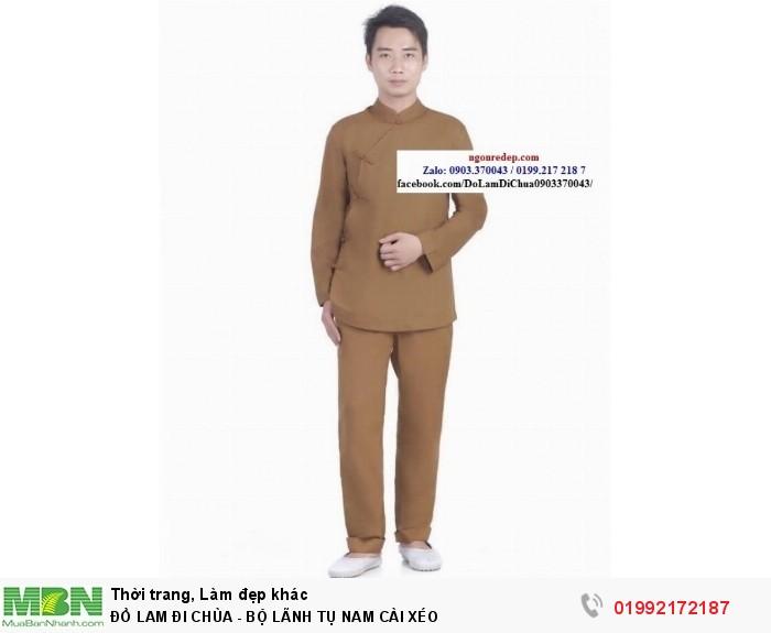 Đồ Lam Đi Chùa - Bộ Lãnh Tụ Nam Cài Xéo0