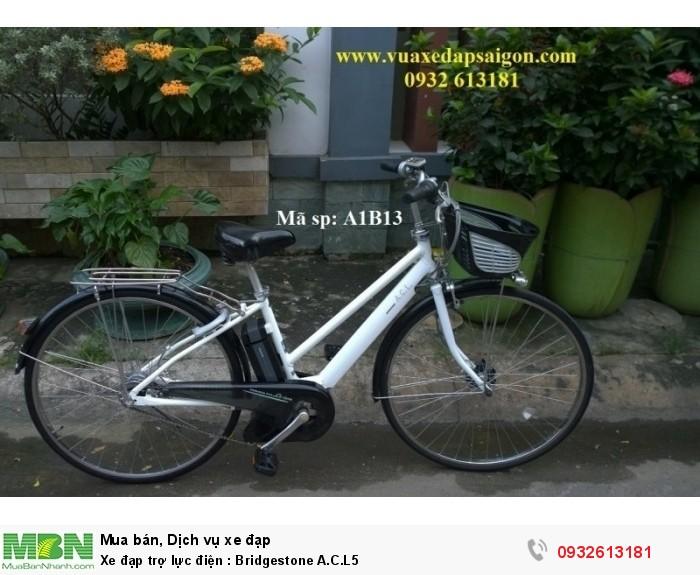 Xe đạp trợ lực điện: Bridgestone A.C.L5