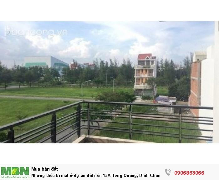 Những điều bí mật ở dự án đất nền 13A Hồng Quang, Bình Chánh khiến bạn quan tâm