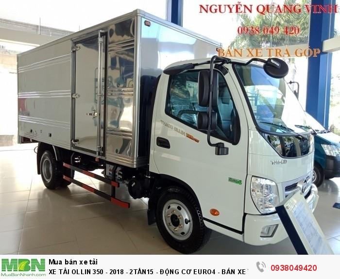 Xe Tải Ollin 350 - Euro 4 - Mới nhất - 2,15 & 3,49 tấn - Động Cơ Euro4 - Bán Xe Trả Góp 2