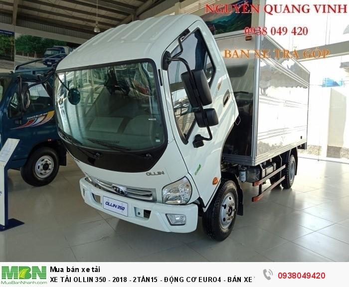 Xe Tải Ollin 350 - Euro 4 - Mới nhất - 2,15 & 3,49 tấn - Động Cơ Euro4 - Bán Xe Trả Góp 3