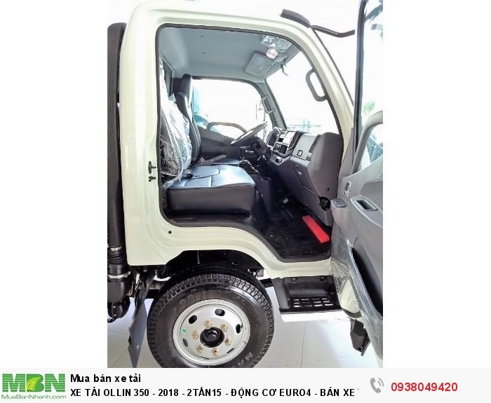 Xe Tải Ollin 350 - Euro 4 - Mới nhất - 2,15 & 3,49 tấn - Động Cơ Euro4 - Bán Xe Trả Góp 4