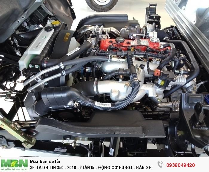 Xe Tải Ollin 350 - Euro 4 - Mới nhất - 2,15 & 3,49 tấn - Động Cơ Euro4 - Bán Xe Trả Góp 8