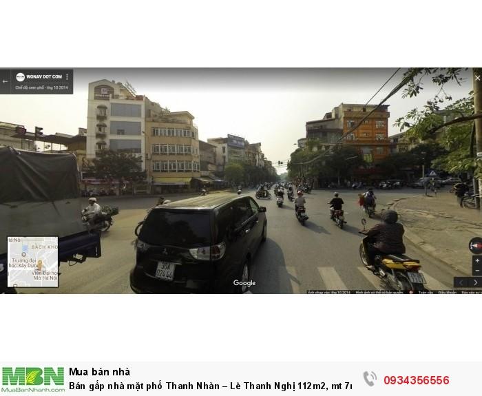 Bán gấp nhà mặt phố Thanh Nhàn – Lê Thanh Nghị 112m2, mt 7m giá nhỉnh 23 tỷ(Hiếm).