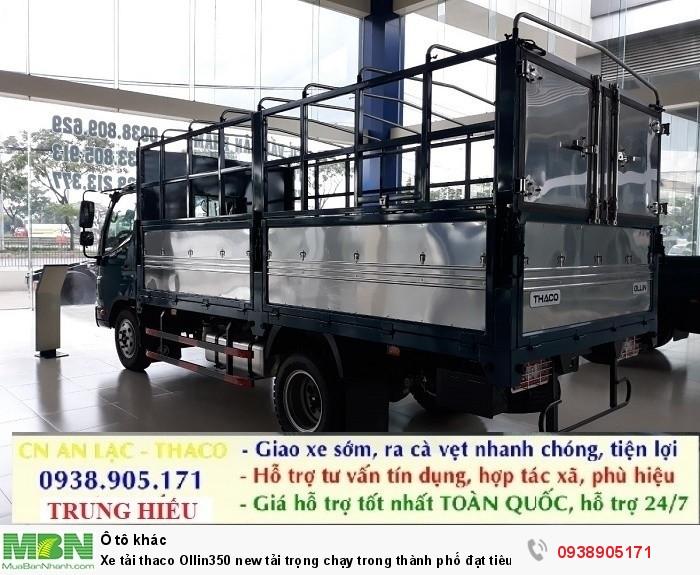 Xe tải thaco Ollin350 new tải trọng chạy trong thành phố đạt tiêu chuẩn khí thải EURO IV 2