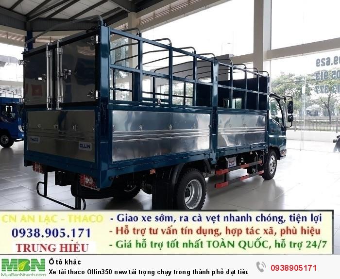 Xe tải thaco Ollin350 new tải trọng chạy trong thành phố đạt tiêu chuẩn khí thải EURO IV 4