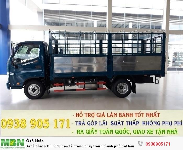 Xe tải thaco Ollin350 new tải trọng chạy trong thành phố đạt tiêu chuẩn khí thải EURO IV 6